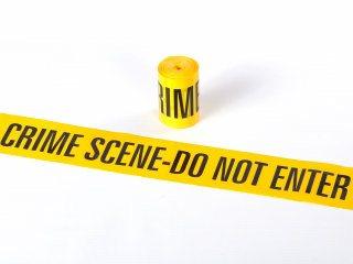 Barrier Tape - CRIME SCENE DO NOT ENTER 15M