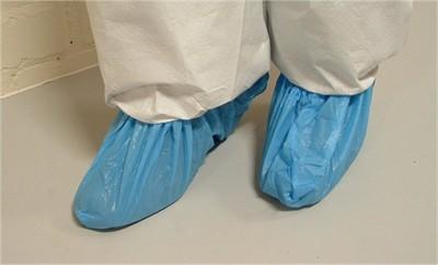 CSI Solo Disposable PVC Blue overshoes