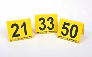Photo Evidence Markers Numbers 1-50