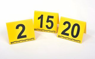 Photo Evidence Markers Numbers 1-20