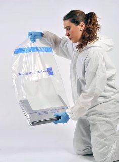 Tamper Evident Bags - Large (Plain Panel)
