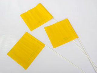 Crime Scene Flags - Yellow
