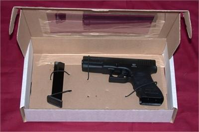 CSI Hand Gun - Knife Box with Window