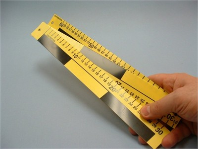 3 Part Folding Metric Reference Scale