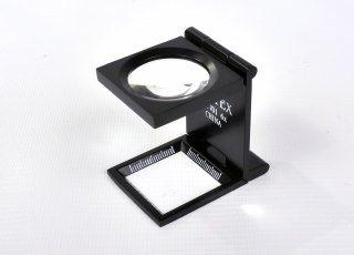 Linen Tester - Black metallic with case