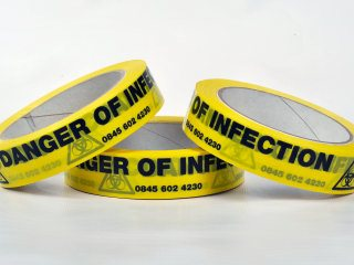 Adhesive Tape - DANGER OF INFECTION