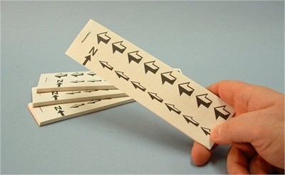 Self Adhesive Arrow Booklet - Small