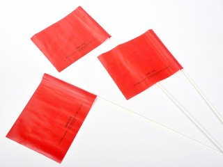 Crime Scene Flags - Red