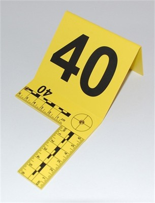 Photo Evidence Markers - Foldable Scale 1 - 50