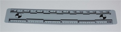 Photo Evidence Scale - Grey 150mm/6""