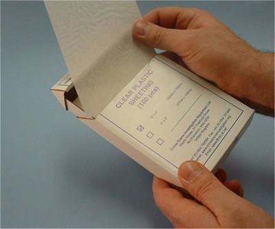 Acetate Sheets Fingerprint 6x4 -100pk-